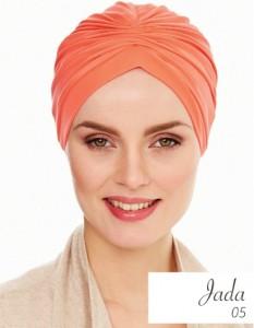 swimming turban orange