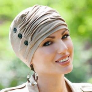 Louise Turban with Detail by Masumi