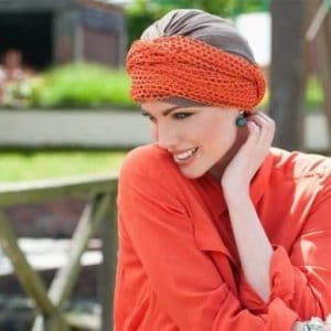 Daisy Hat with Full Scarf Detail | Masumi