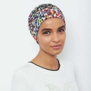 Florida Patterned Turban | Gisela Mayer