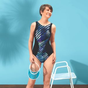 Toronto One-Piece High Neckline Swimsuit (71390)