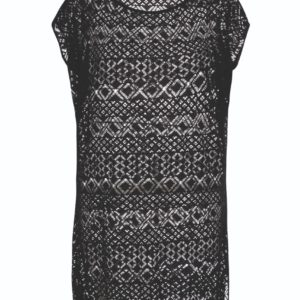 Menorca Loose Fil Pull Over Cover Up Black by Amoena