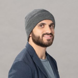Pro Hat Beany for Men on Chemo by Ellen Wille