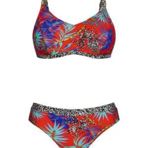 Mastectomy Alba African Heat Bikini by Anita