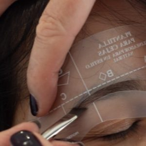 Eyebrow Stencil Set of Four Shapes