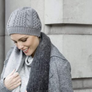 Bianca Wool Hat for Chemo | Masumi