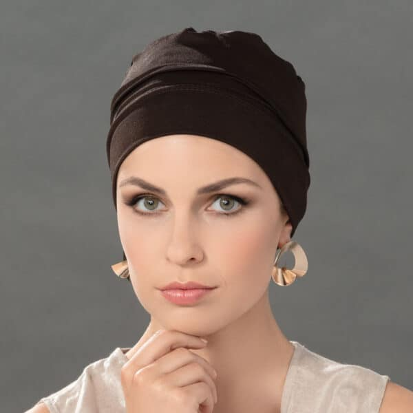 Easy Fit chemo hat front