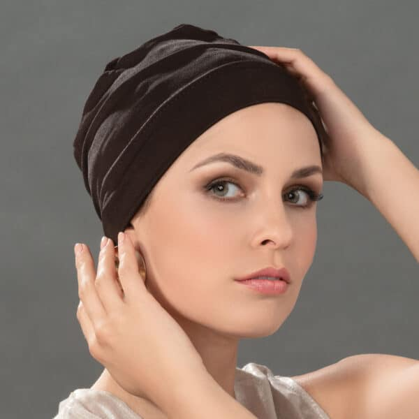 Easy Fit chemo hat side