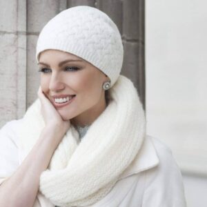 Anja Soft Lined Wool Hat for No Hair Heads | Masumi