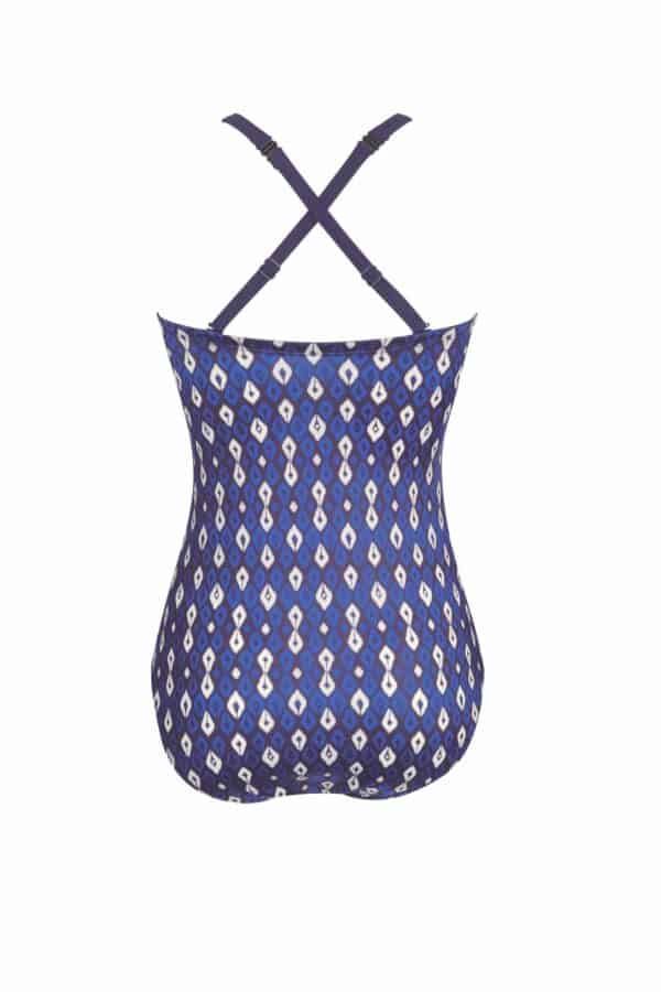 morocco swimsuit detachable straps criss cross back