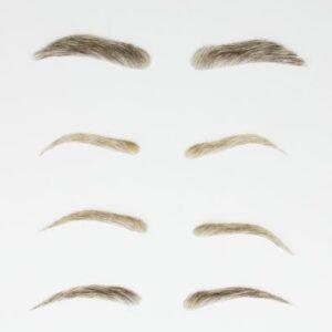 Natural Human Hair Eyebrows | Dimples