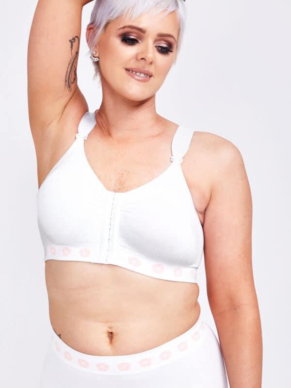 peony mastectomy front opening bra
