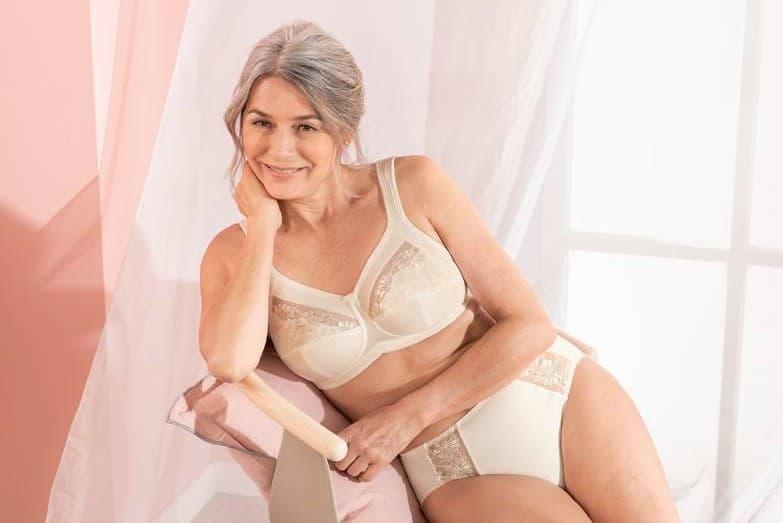safina mastectomy bra crystal set model