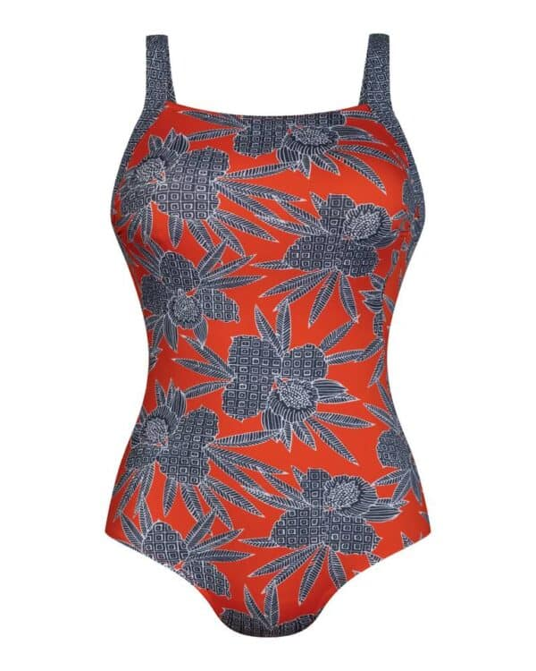 Ventura Bahia floral swimsuit front